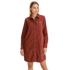 Lee Šaty Workshirt Dress Red Ochre
