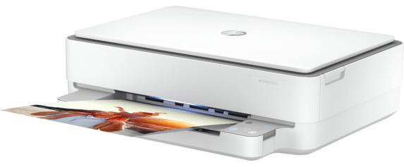 HP Deskjet Plus 6075 Ink Advantage All-in-One (5SE22C) irodába alkalmas fekete-fehér tintasugaras nyomtató.