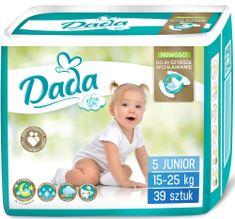 Dada Extra Soft, jednorazové plienky, veľ.:5, 15-25 kg, 39 ks