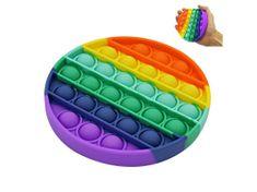 POP IT antistresová hračka kruh rainbow - NOVINKA