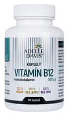 Adelle Davis Vitamín B12 500 mcg, 60 kapsúl