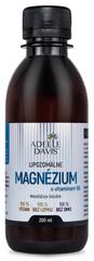 Adelle Davis Lipozomálne magnézium s vitamínom B6, 200 ml