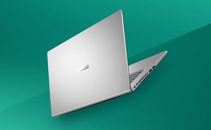 elegantný univerzálny notebook Asus 14 X415MA windows 10 home dvojčlánková batéria podsvietená klávesnica intel grafika čítačka pamäťových kariet kamera Bluetooth wifi ac pripojenie wlan hdmi matný displej ips výkonný procesor intel nízka hmotnosť notebooku