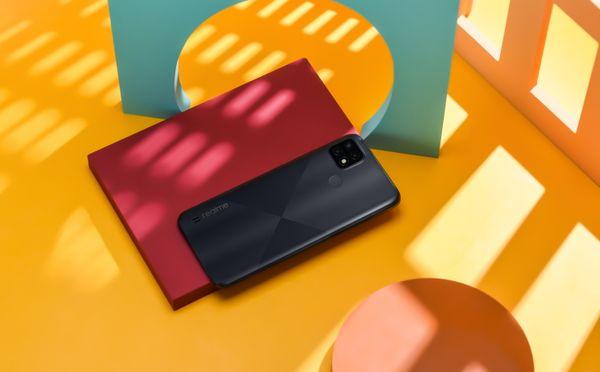 Realme C21, velký displej, dlouhá výdrž velkokapacitní baterie, výkonný procesor, trojnásobný fotoaparát ochrana zraku bezrámečkový displej LCD displej reverzní nabíjení čtečka otisku prstů odemykání obličejem LTE internet LTE připojení Wi-Fi Bluetooth 5.1 Android 10 nadstavba Realme UI