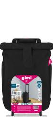 Gimi Sprinter nakupovalni voziček, črn