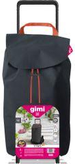 Gimi Tris Floral nakupovalni voziček, siv