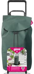 Gimi Tris Floral nakupovalni voziček, zelen