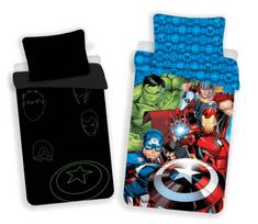 Jerry Fabrics Obliečky Avengers 02 svietiaci