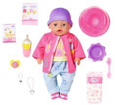 BABY born s kouzelným dudlíkem, holčička v oblečku do každého počasí, 43 cm