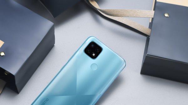 Realme C21, veľký displej, dlhá výdrž veľkokapacitná batéria, výkonný procesor, trojnásobný fotoaparát ochrana zraku bezrámikový displej LCD displej reverzné nabíjanie čítačka odtlačkov prstov odomykanie tvárou LTE internet LTE pripojenie Wi-Fi Bluetooth 5.1 Android 10 nadstavba Realme UI