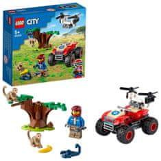 LEGO City 60300 Spasite četverotočkaša u divljini
