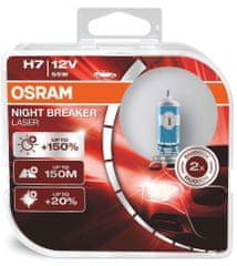 Osram H7 Osram Night Breaker® Laser Next Generation (2 ks) - 12V, 55W, PX26d - (64210NL-HCB)