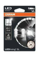 Osram W5W Osram LEDriving® SL White 6.000°K (2 ks) - 12V, 1,12W, W2.1x9.5d - (2825DWP-02B)