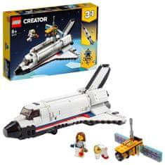 LEGO Creator 31117 Vesoljska pustolovščina z vesoljskim raketoplanom