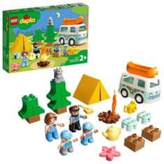 LEGO DUPLO Town 10946 Pustolovščina v družinski prikolici