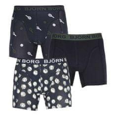 Björn Borg 3PACK pánske boxerky viacfarebné (2111-1077-72731)