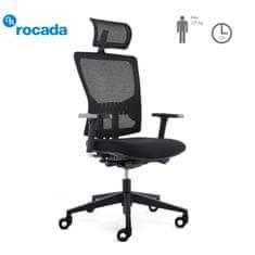 rocada ErgoLine pisarniški stol, za menedžerje, črn sedež (RD-937HR-B)