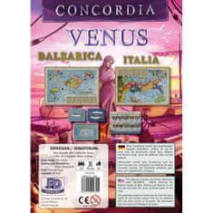 PDV družabna igra Concordia Venus, razširitev Balearica-Italia angleška izdaja