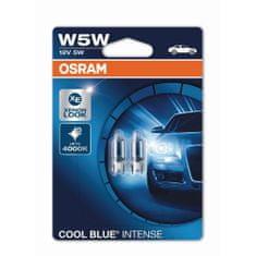 Osram W5W Osram Cool Blue® Intense (2 ks) - 12V, 5W, W2.1x9.5d - (2825HCBI-02B)