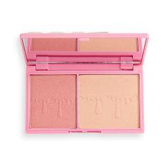 I Heart Revolution Paletka rozjasňovačů Rosé Fizz Glow (Highlighter Palette) 11 g