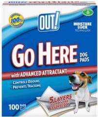 OUT! hygienické podložky 100ks biela 56