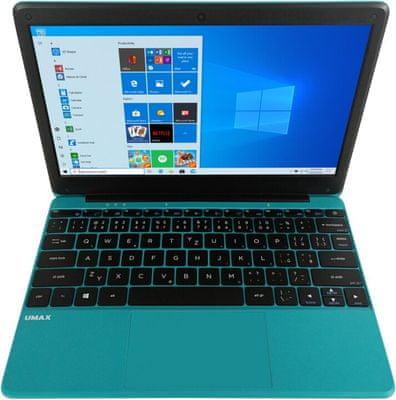 Notebook UMAX VisionBook 12Wr 11,6 palce cena výkon