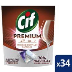 Cif Premium Regular Kapsuly do umývačky riadu 34 ks
