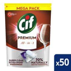 Cif Premium Regular Kapsuly do umývačky riadu 50 ks