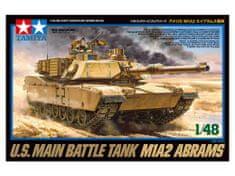 Tamiya M1A2 Abrams 1/48