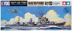 Tamiya Hatsuyuki Destroyer 1/700