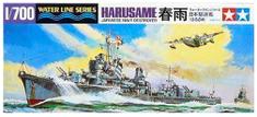 Tamiya Harusame Destroyer 1/700