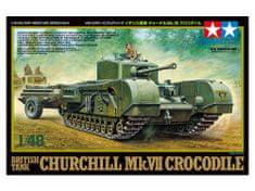 Tamiya Churchill Mk VII Crocodile 1/48