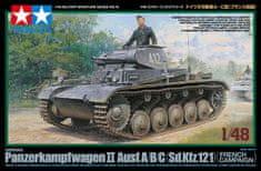 Tamiya Panzer II Ausf.A/B/C French Camp. 1/48