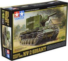 Tamiya Russian Heavy Tank KV-2 1/48