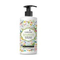Careline Jemný telový krém Jarná kvet ( Silk y Body Cream) 400 ml