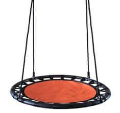 Houpací kruh 100 cm oranžovo-černý