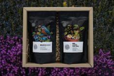 Naturpark 12 Degustačný balíček na espresso 2 x 150 g, Brazília + Burundi