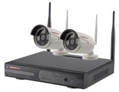 KAMERAK.cz Bezdrátový 2 kamerový system WiFi IP PRO-6202-720p , CZ menu