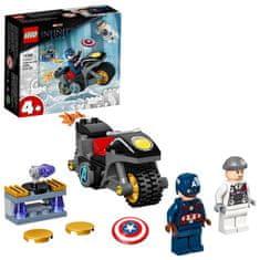 LEGO Marvel Avengers 76189 Captain America vs. Hydra