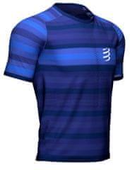 Compressport Pánské triko, Racing SS Tshirt Blue