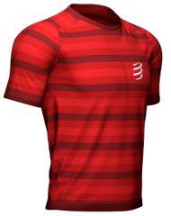 Compressport Pánské triko, Performance SS Tshirt Red