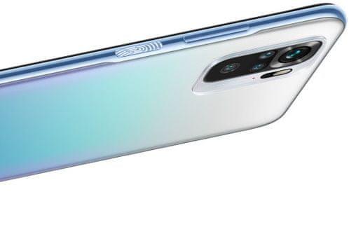 Xiaomi Redmi Note 10S, čtyřnásobný fotoaparát, 4 objektivy, AMOLED displej tečkový výřez, dvojice reproduktorů, snímač otisku prstů odemykání obličejem