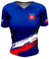 Compressport Dámské triko, Training Tshirt SLOVAKIA