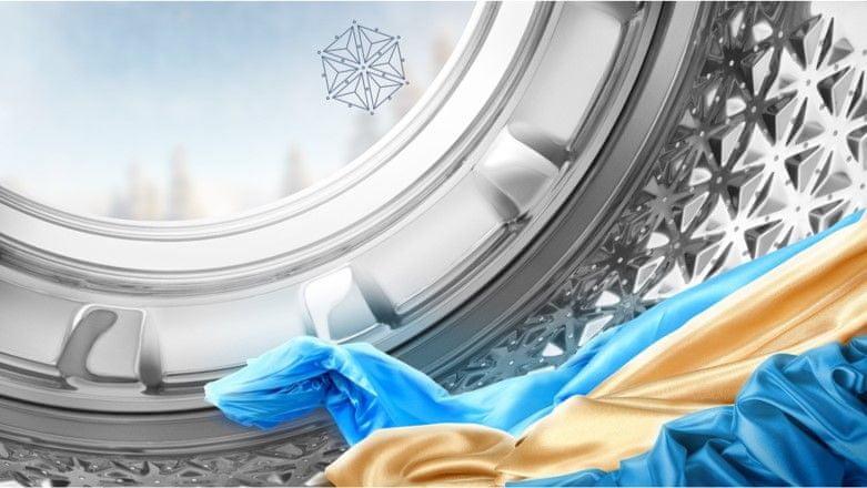 SnowFlake boben za najbolj občutljive tkanine
