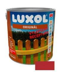 LUXOL  Originál červeň rumelková 0081 2,5L - tenkovrstvá lazúra