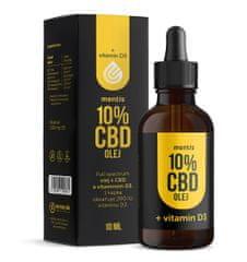 Mentis 10% CBD Full Spectrum + Vitamin D3 olej