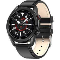 Wotchi Smartwatch W21B - Black Leather