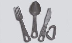 ALB FORMING Příbor jídelní polypropylen sivá