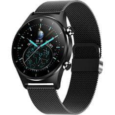 Wotchi Smartwatch W44BST - Black Stainless