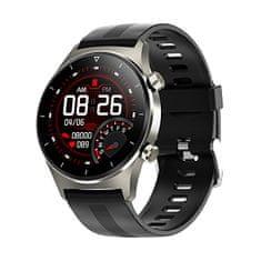 Wotchi Smartwatch W46BS - Black Silicon